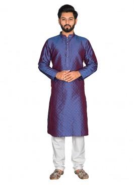 Adorable Blue Color Kurta Pajama