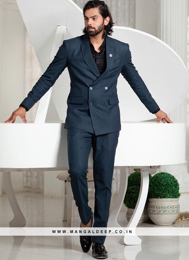 Azure Blue Suit Set