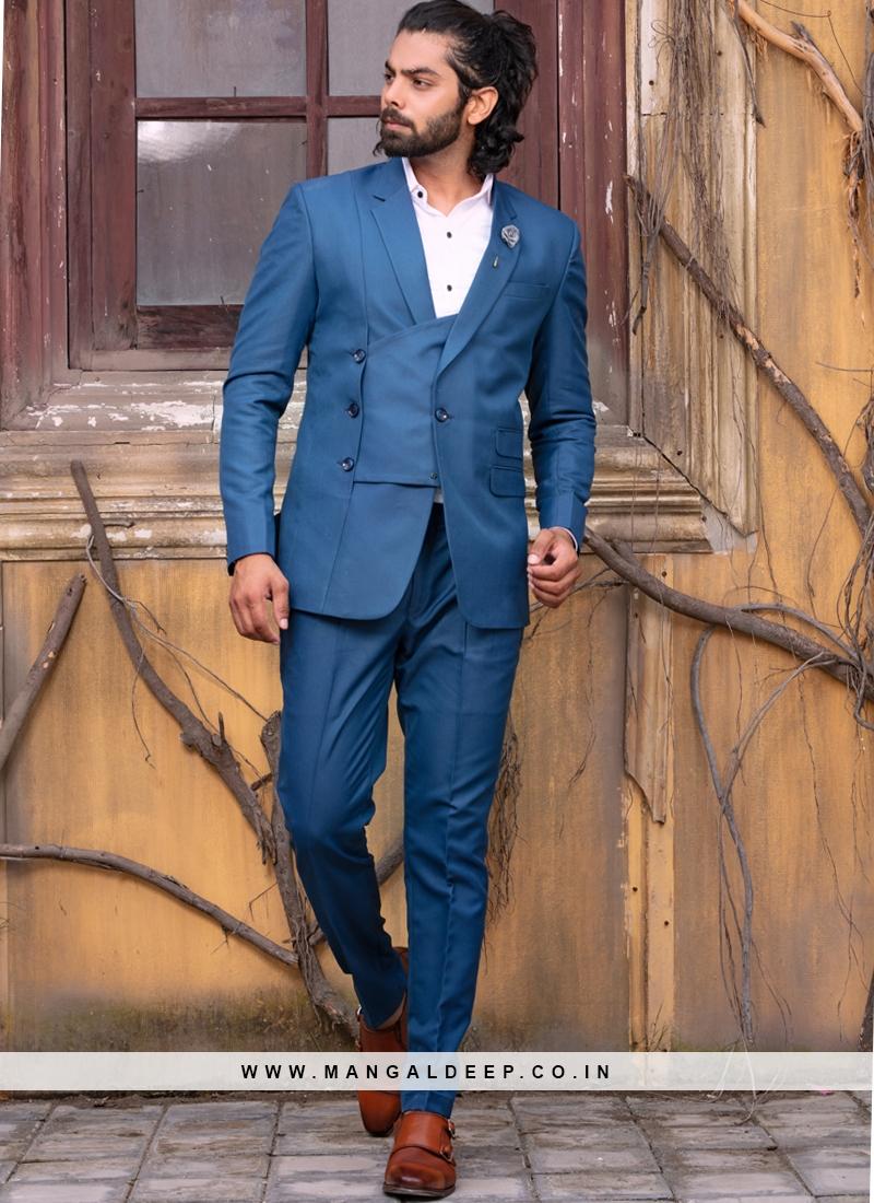 Charming Blue Suit