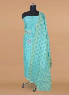 Charming Green Color Party Wear Designer Salwar Kameez