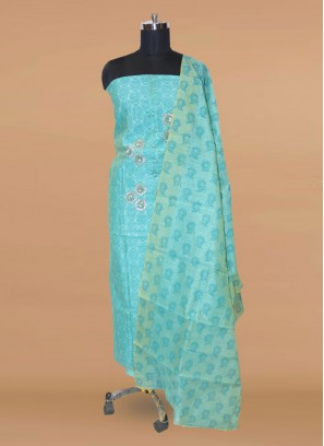 Charming Green Color Party Wear Designer Salwar Kameez