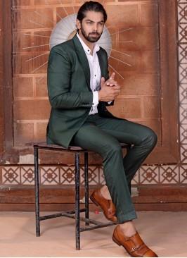 Charming Green Suit Set