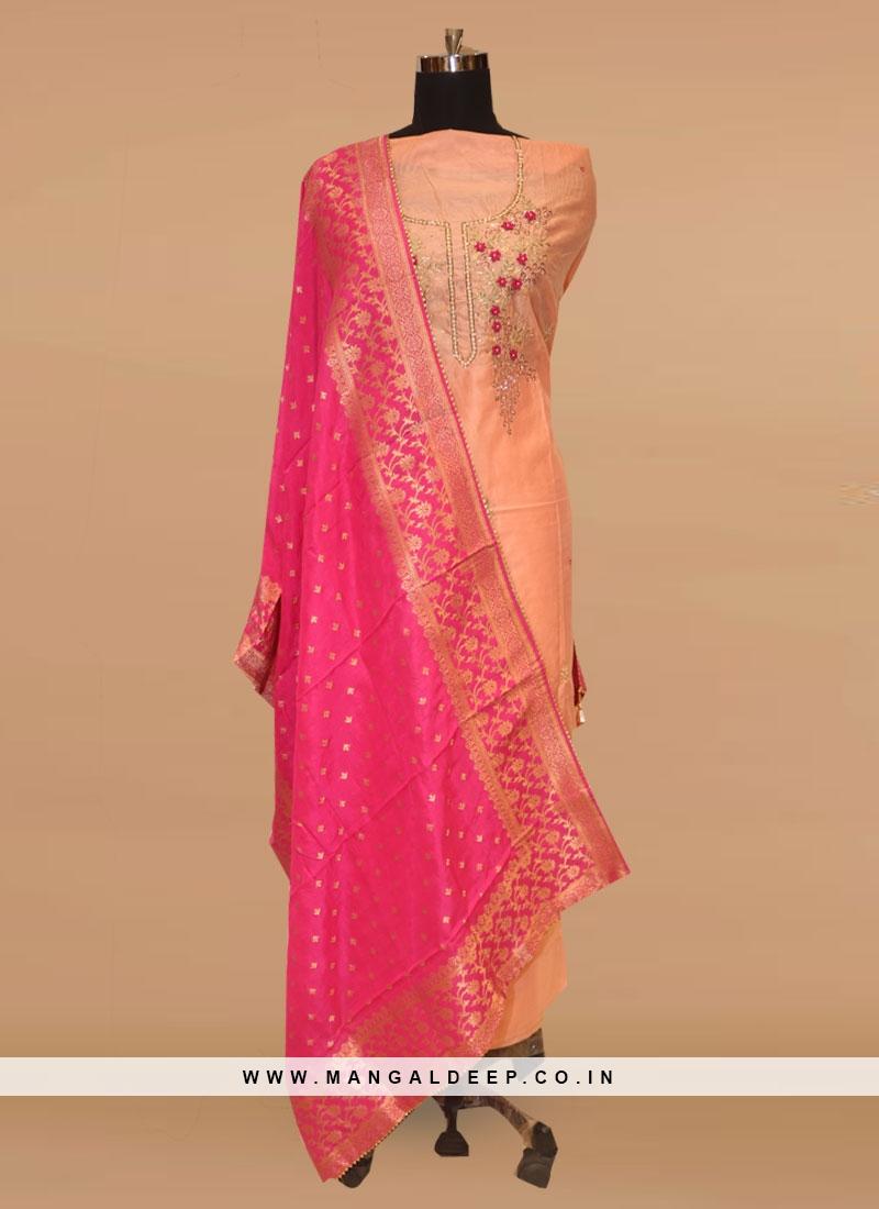 Charming Multi Color Party Wear Designer Salwar Kameez