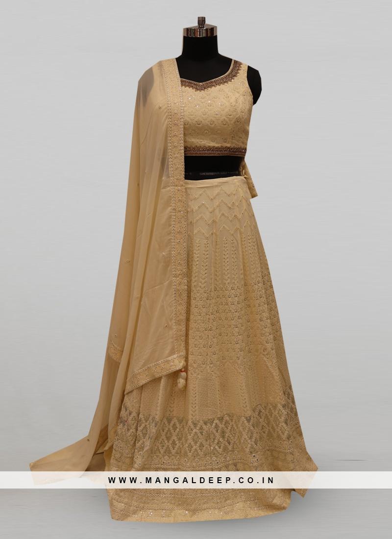 Classic White Color Function Wear Designer Lehenga Choli