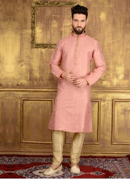 Engagement Kurta In Pink Colour