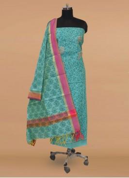 Fabulous Green Color Function Wear Designer Salwar Kameez