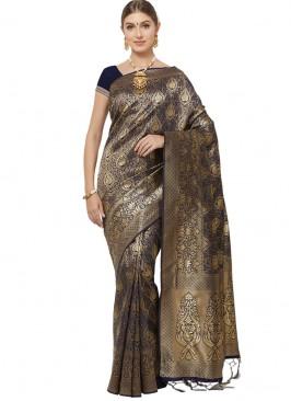Fabulous Multi Color Party Wear Saree