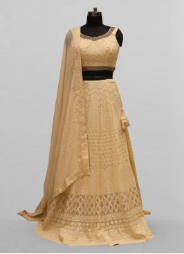 Fabulous Off White Color Function Wear Lehenga Choli