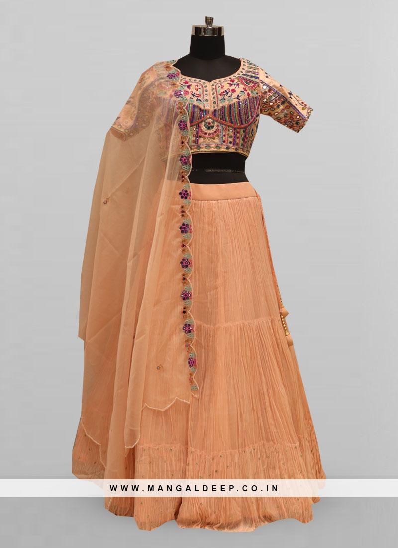 Fabulous Pink Color Function Wear Lehenga Choli