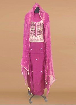 Fabulous Purple Color Function Wear Designer Salwar Kameez