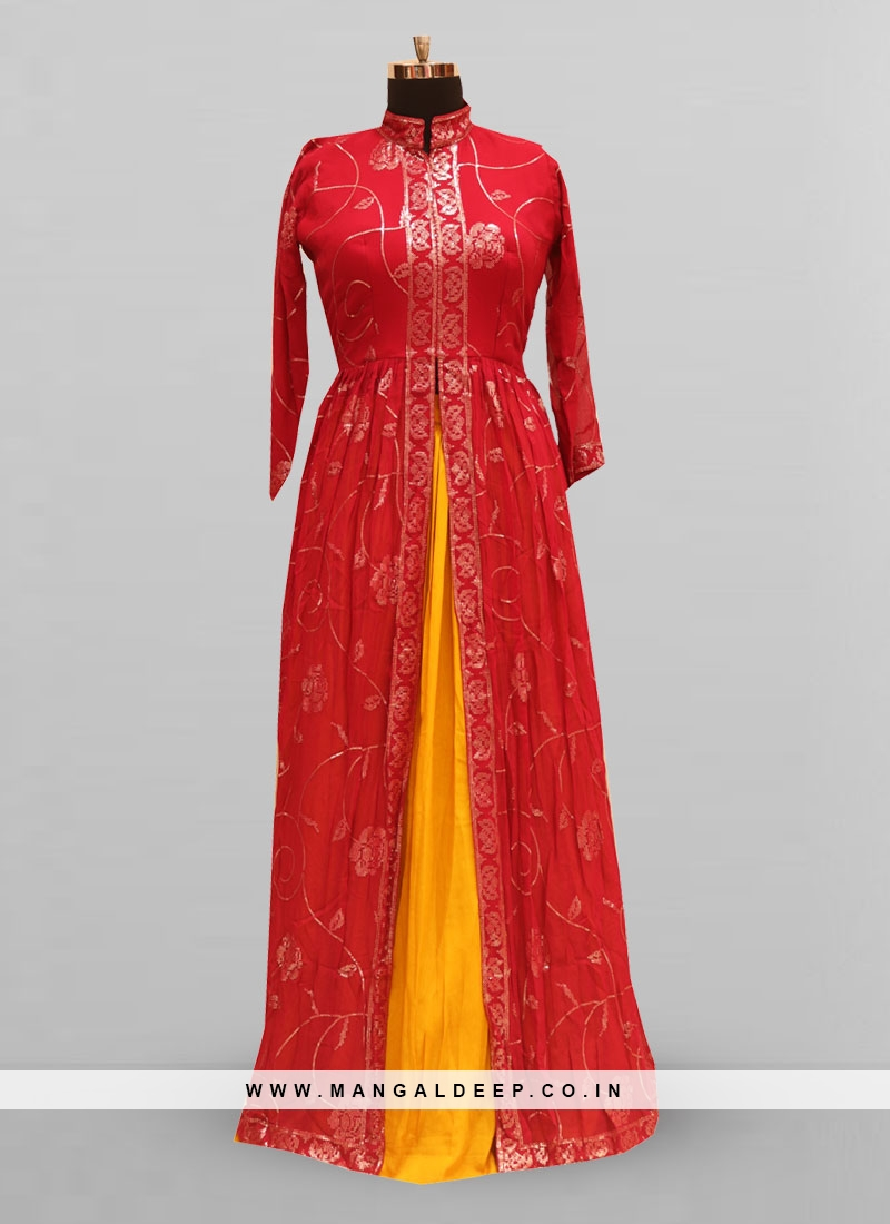 Fabulous Red Color Function Wear Lehenga Choli