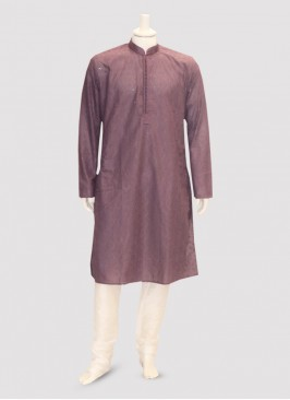 Festive Function Wear Maroon Color Kurta Pajama