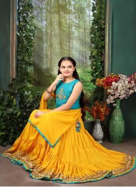 Festive Wear Yellow Color Designer Lehenga Choli