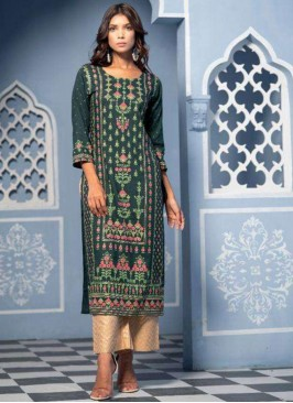 Function Wear Lovely Multi Color Designer Kurti