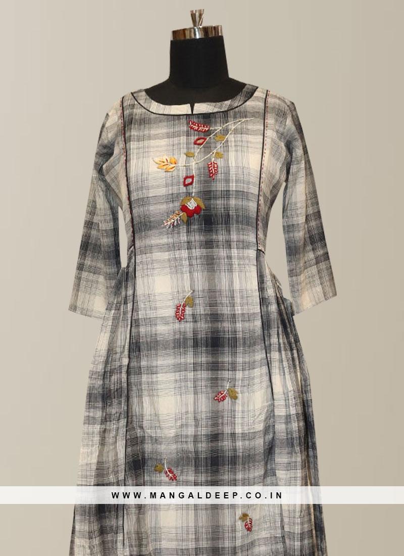 Graceful Multi Color Function Wear Designer Kurti