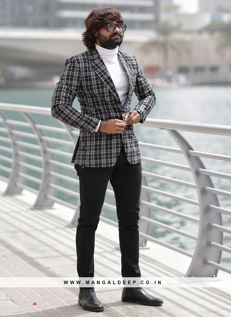 Latest Design White Blazer