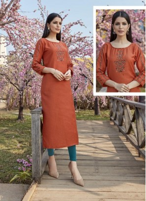 Lovely Multi Color Function Wear Kurti