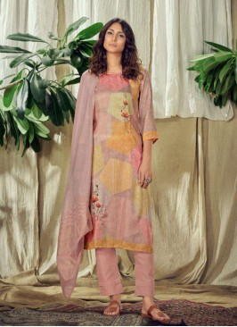 Lovely Multi Color Readymade Salwar Suit