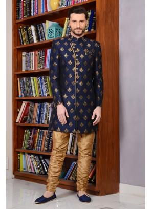 Maharana Style Royal Look Sherwani For Groom