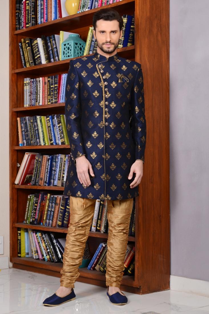 Maharana Style Royal Look Sherwani For Groom'S Wedding