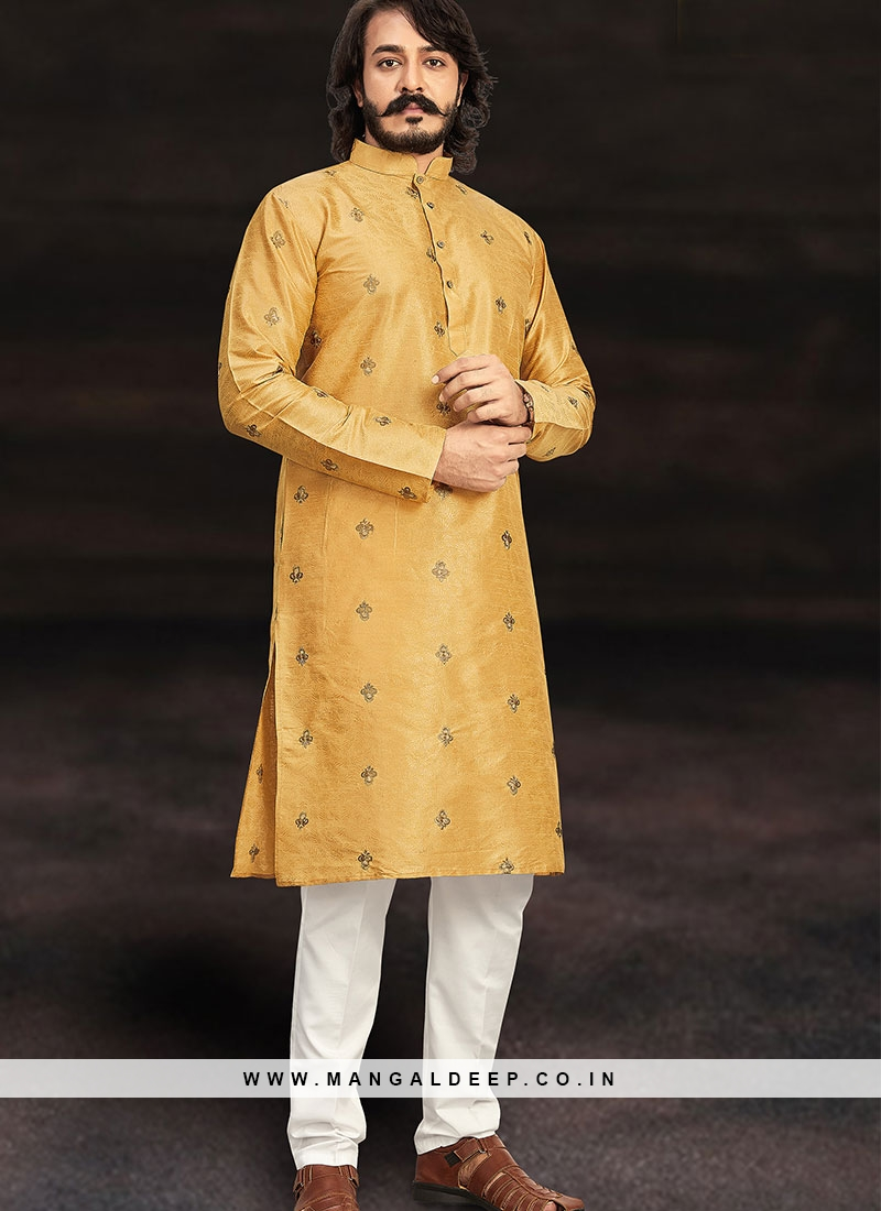 Majestic Yellow Kurta Set