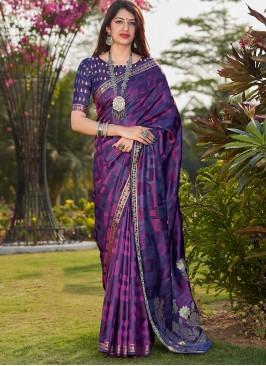 New Designer Multi Color Saree