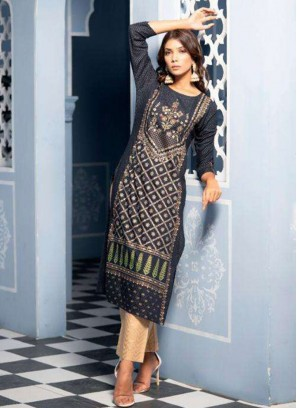 Party Wear Multi Color Designer Kurti