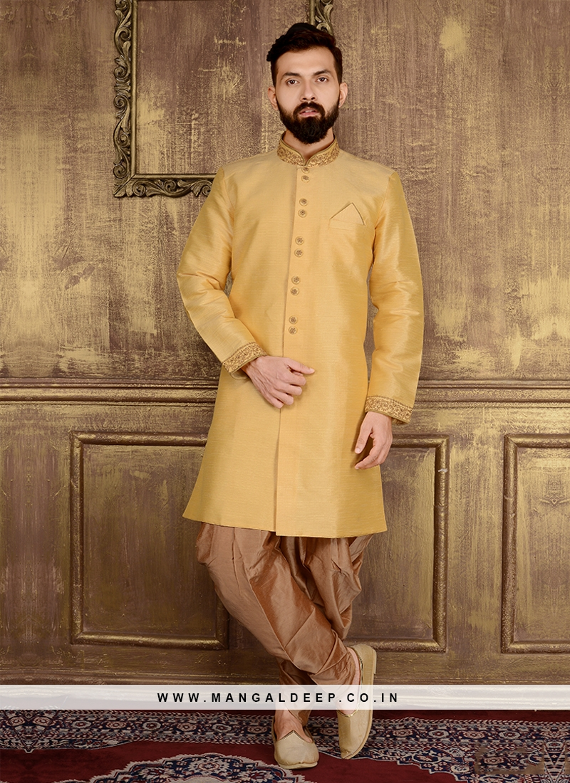 Patiala Style Mens Indo Western