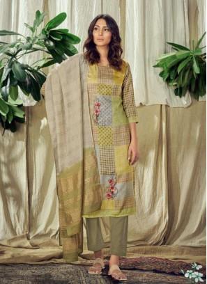 Ravishing Multi Color Readymade Salwar Suit