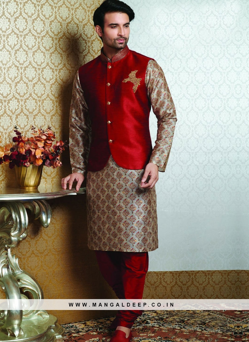 Sangeet Function Wear Multi Color Fancy Kurta Pajama