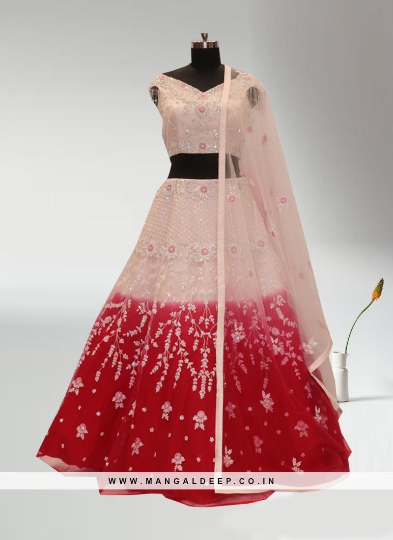 Sangeet Function Wear Multi Color Lehenga Choli