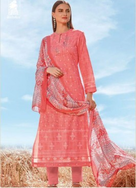 Sangeet Function Wear Pink Color Designer Suit