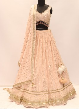 Soothing Peach Color Designer Lehenga Choli