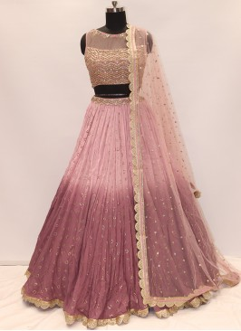 Soothing Pink Color Designer Lehenga Choli