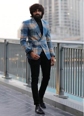 Sophisticated Cobalt Blue Blazer