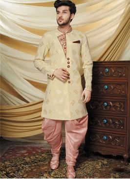 Stylish Beige Indo Western