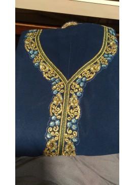 Teal Blue Color Salwar Suit
