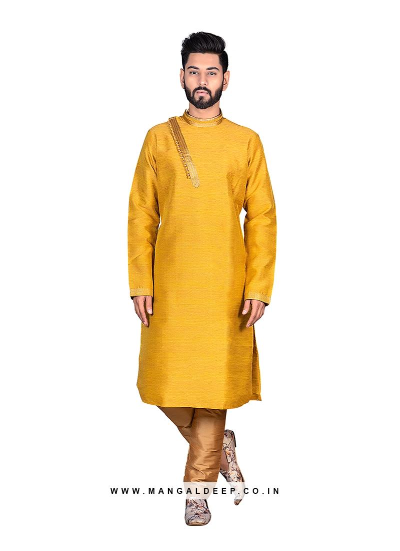 Vibrant Yellow Kurta Set