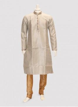 Wedding Function Wear Multi Color Kurta Pajama