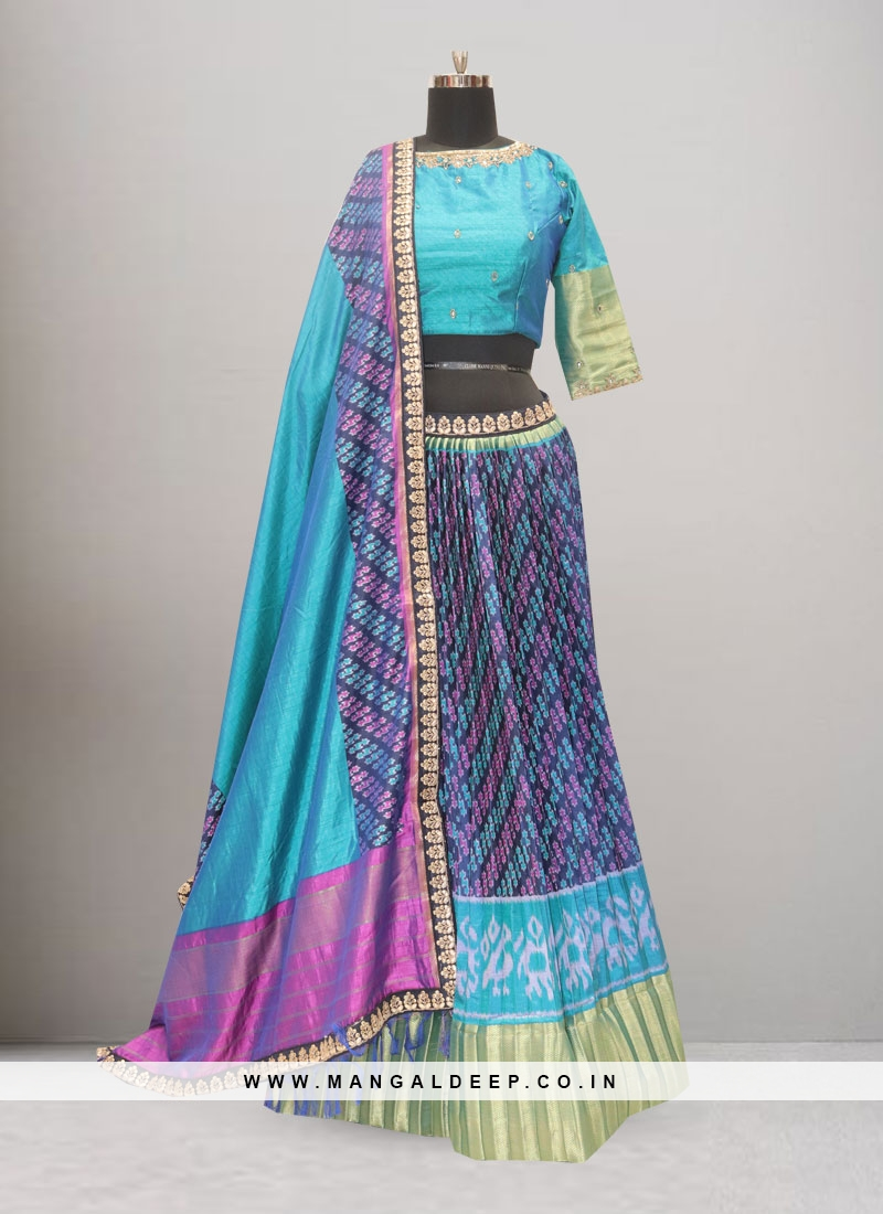 Wedding Function Wear Multi Color Lehenga Choli