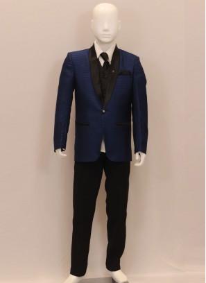 Wedding Wear Blue Color Kids Blazer