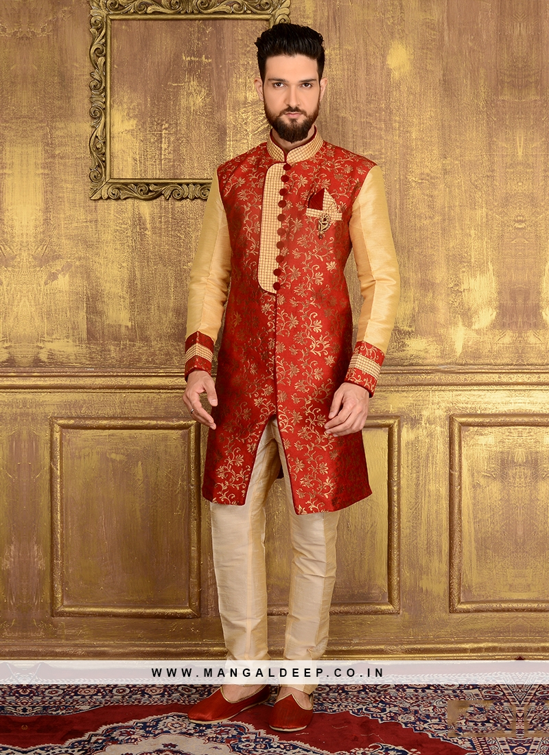 Wedding Wear Indo Western Sherwani