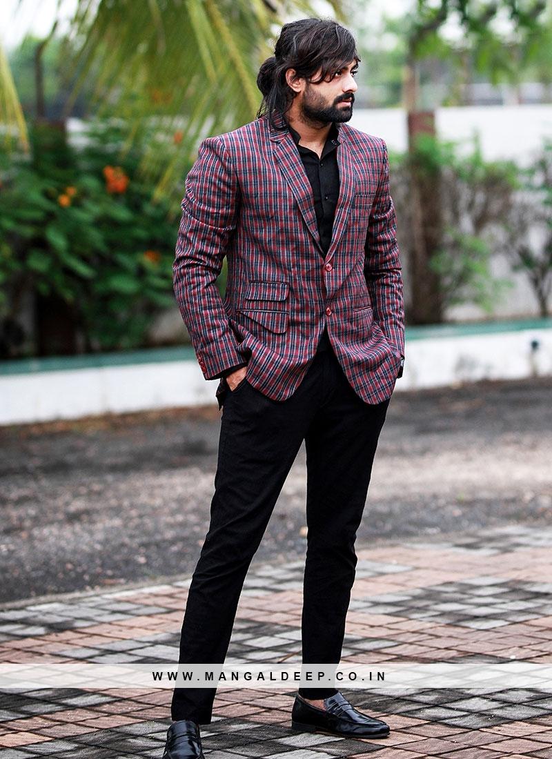 Well-Tailored Purple Blazer